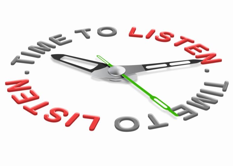 Время слушать